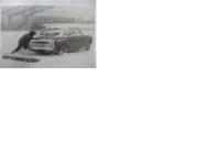Schneebeseitigung bei FC St.Pauli 1968