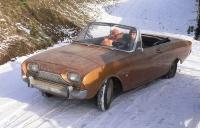 P3 Cabrio im Schnee