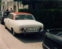 Altes Auto altes Kennzeichen AL
